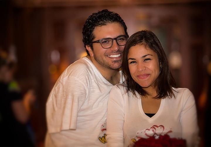 Shaza & Mina Proposal Day