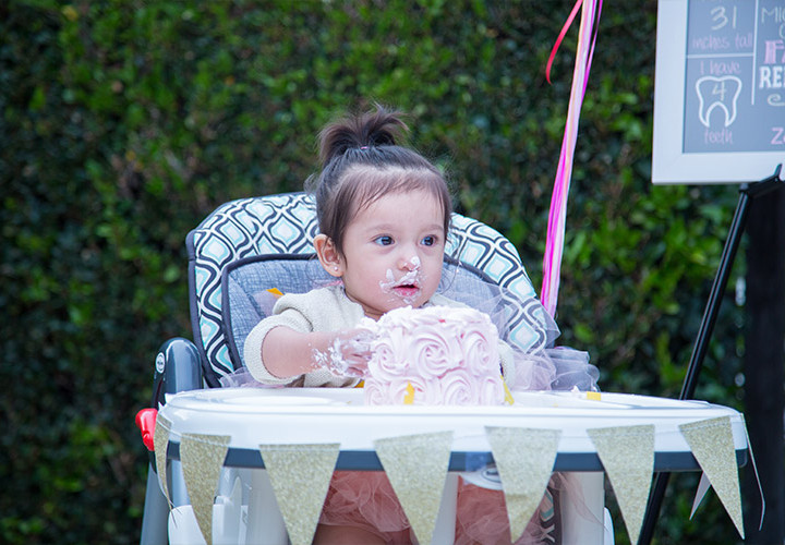 Zahra's First Birthday